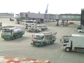 伊丹空港到着