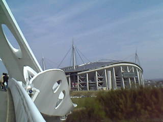豊田スタジアム到着