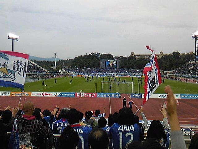 F・マリノス v.s. ガンバ大阪