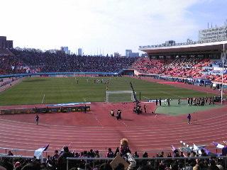 女子サッカー選手権決勝 INAC神戸レオネッサ v.s. アルビレックス新潟レディース